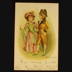 COSTUMES - CARTE DE 1903