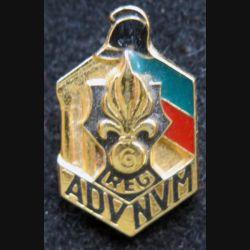 6° REG : pin's du 6° régiment étranger du génie de la légion étrangère fabrication Balme