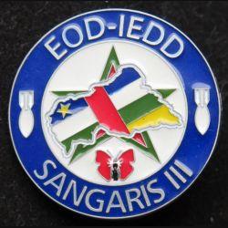 31° RG : EOD - IEDD du 31° régiment du Génie Sangaris III