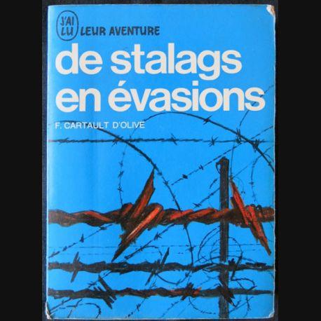 De stalags en évasions écrit par F. Cartault d'Olive aux éditions J'ai Lu - F009