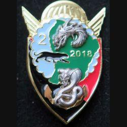 17° RGP : 2° compagnie du 17° Régiment du génie parachutiste Guyane 2018 fabrication IMC N° 208