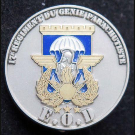 17° RGP : EOD démineurs du 17° Régiment du génie parachutiste  fabrication IMC