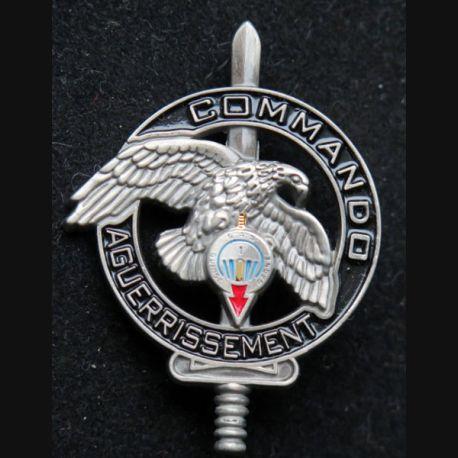 CEC 1° RPIMA : brevet du centre d'entrainement commando aguerrissement du 1° RPIMA Arthus Bertrand