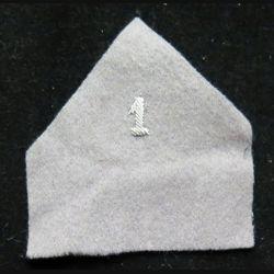 Soutache ( insigne de col ) du 1° GLCAT en cannetille