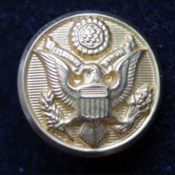 bouton d'uniforme de l'US Army Force diamètre 1,6 cm Waterbury button CT USA