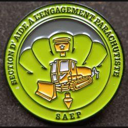 17° RGP : Section d'aide à l'engagement t parachutiste de la Compagnie d'appui du 17° RGP fab MCPC Numéroté