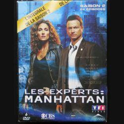 DVD : LES EXPERTS MANHATTAN l'intégrale de la Saison 2 6 DVD (C209)