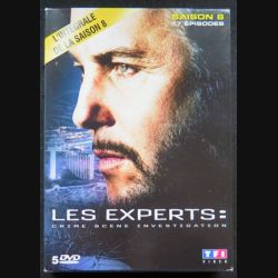 DVD : LES EXPERTS l'intégrale de la Saison 8 5 DVD (C209)