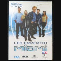 DVD : LES EXPERTS MIAMI Saison 1 (épisodes 1.1 à 1.12 3 DVD) (C209)