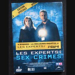 DVD : LES EXPERTS MIAMI Sex Crimes 2 DVD (C209)