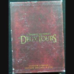 DVD : Le Seigneur des anneaux Les deux tours version longue (4 DVD) (C209)