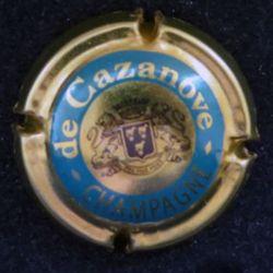 Capsule Muselet de bouteille de champagne De Cazanove (L5)