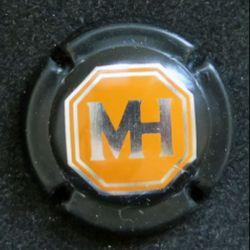 Capsule Muselet de bouteille de champagne M. Hostomme (L5)