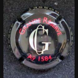 Capsule Muselet de bouteille de champagne Gosset Grande réserve Aÿ 1584 (L6)