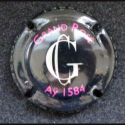Capsule Muselet de bouteille de champagne Gosset Grand Rosé Aÿ 1584 (L6)
