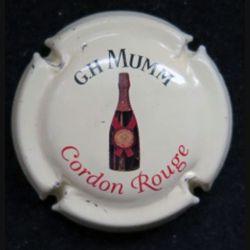 Capsule Muselet de bouteille de champagne G.H Mumm Cordon rouge (L6)