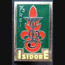 3° REI : 3° régiment étranger d'infanterie  ISIDORE 7° compagnie Drago R 75 vert foncé
