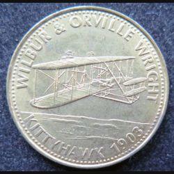 Pièce Shell Wilbur et Orville Wright Kittyhawk 1903