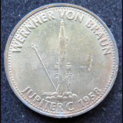 Pièce Shell Vernher Von Braun Jupiter C 1958
