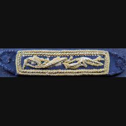 bande d'épaule en cannetille de tenue de soirée d'officier de marine