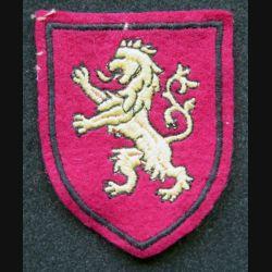 Insigne tissu du 2° corps d'armée des forces de l'intérieur belges