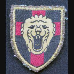 Vieil insigne tissu de la 1° division d'infanterie belge