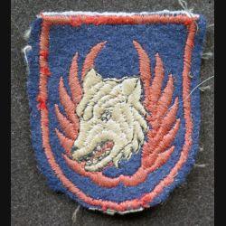 vieil Insigne tissu de wing de l'armée de l'air belge
