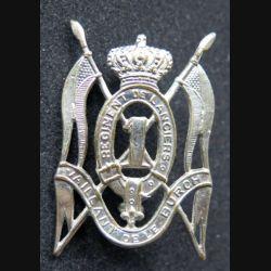 insigne de béret du 1° régiment de lanciers belge Vaillant de le Burgh