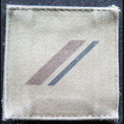 FRANCE : galon de combat de 1° Classe engagé basse visibilité sur scratch