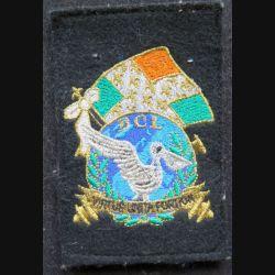 11° RAMA : insigne tissu de la BCL virtus unita fortior sur scratch