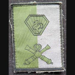 B ART : insigne en tissu de la brigade d'artillerie basse visibilité sur scratch