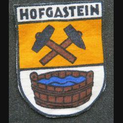 B ART : insigne en tissu du Bad Hofgastein