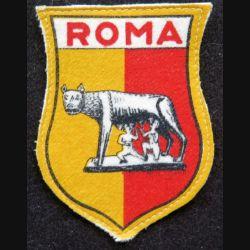 insigne tissu de Rome Roma italie