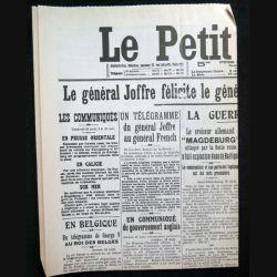 Journal Le petit journal du samedi 29 Août 1914  (C209)