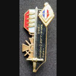PROMOTION EMIA  : Bataillon de Corée 1950 1990 de fabrication Balme G. 3697