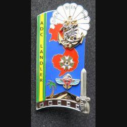 PROMOTION ENSOA : insigne de promotion ADC Landler de fabrication J.Y Ségalen G. 5443