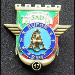 17° RGP : SAD compagnie d'appui du 17° régiment du génie parachutiste EUFOR IMC Tchad n° 173