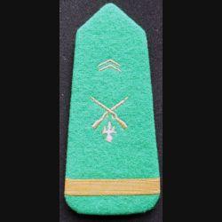 Épaulette de sous lieutenant d'infanterie de l'armée mauritanienne