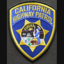 USA : California Highway Patrol US patch