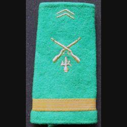 fourreau de sous lieutenant d'infanterie de l'armée mauritanienne