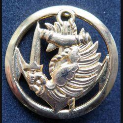 insigne de béret des commandos parachutistes coloniaux sans nom de fabricant