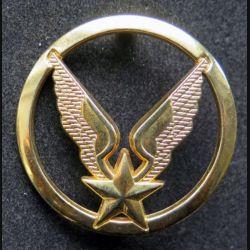 ALAT : insigne de béret de l'aviation légère de l'armée de terre ALAT Drago doré