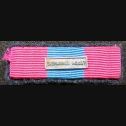 FRANCE : Rappel de décoration de la médaille de la défense nationale sur crochets barrette Légion étrangère