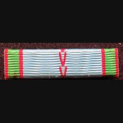 FRANCE : Rappel de décoration de la médaille commémorative 39 45 2° GM  avec attache arrière