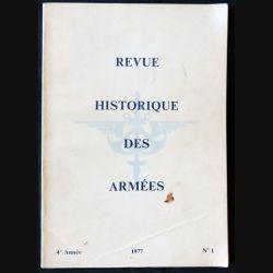 Revue historique de l'armée - 1977 - 4° année N° 1 - F011