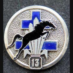 13° DBLE : Escadron de reconnaissance de la 13° demi brigade de la légion étrangère LR Paris émail