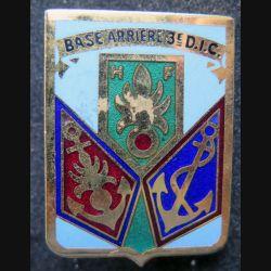 3° DIC : Base arrière de la 3° DIC division d'infanterie coloniale Destrée  retirage
