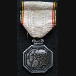 BELGIQUE : médaille du centenaire de l'indépendance belge 1830 - 1930 en métal argenté