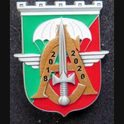 17° RGP : insigne de commandement du Capitaine Emmanuel kaigre offert aux cadres de la Compagnie d'appui MCPC Numéroté