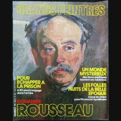 Les grands peintres N° 15  Douanier Rousseau Magazine sur la peinture - F012